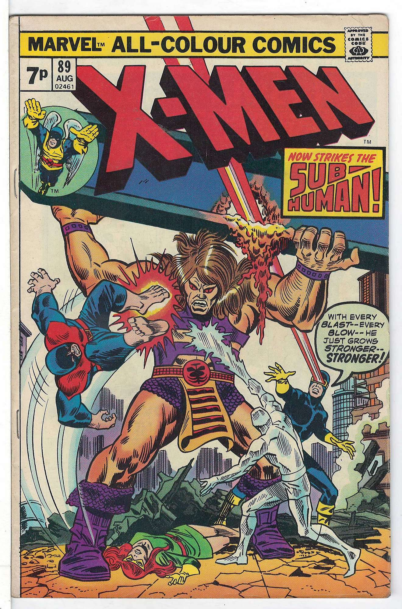 Cover of Uncanny X-Men (Vol 1) #89. One of 250,000 Vintage American Comics on sale from Krypton!
