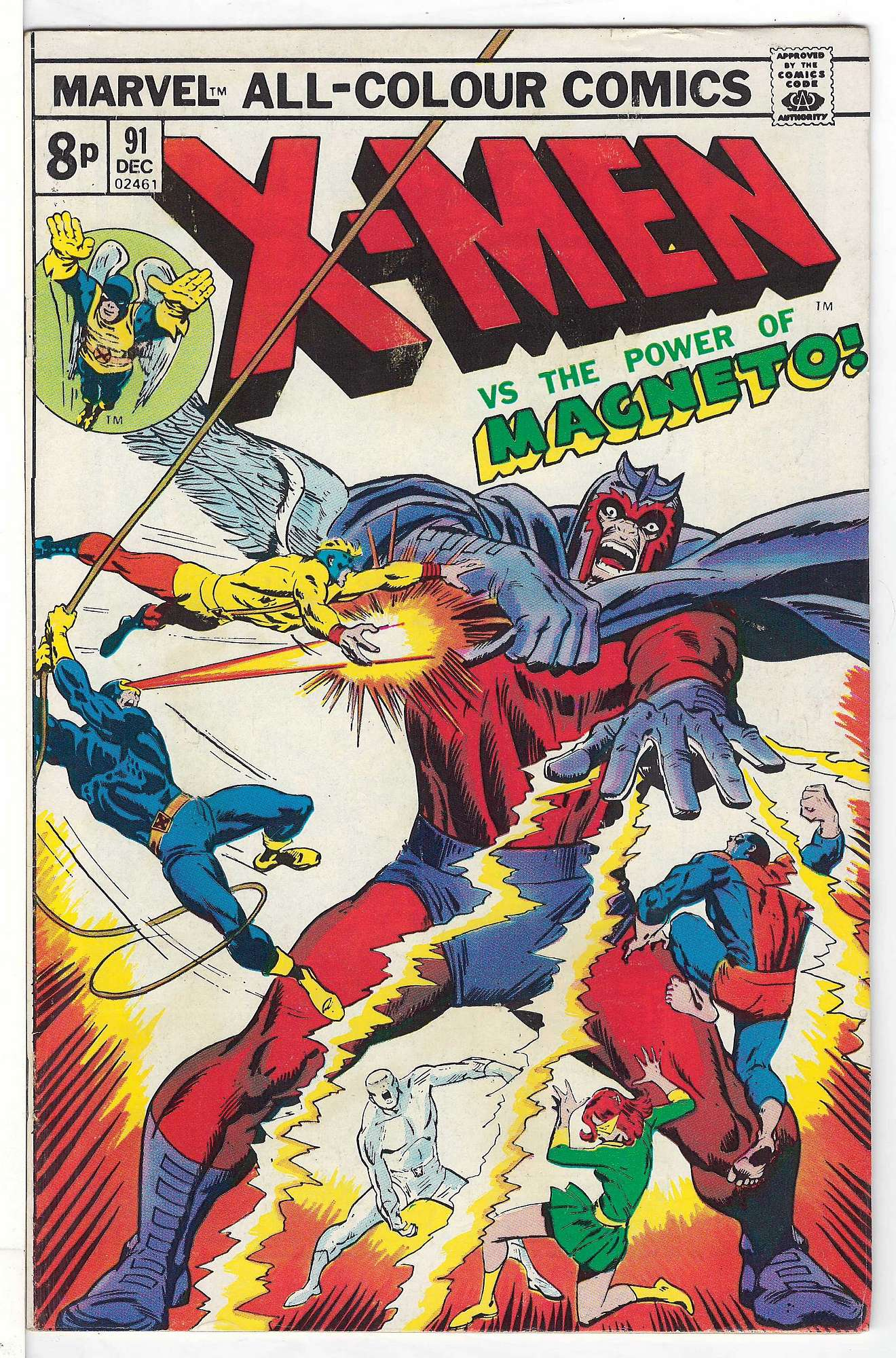 Cover of Uncanny X-Men (Vol 1) #91. One of 250,000 Vintage American Comics on sale from Krypton!