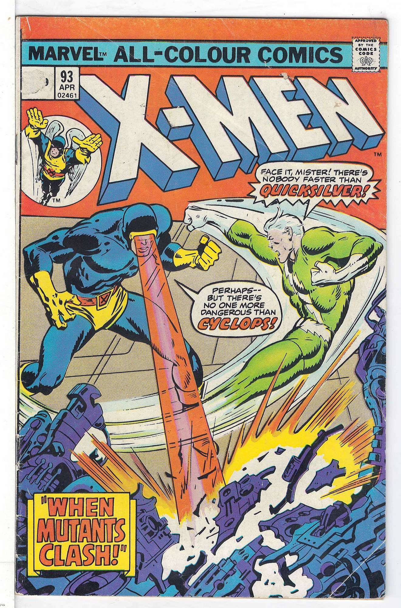 Cover of Uncanny X-Men (Vol 1) #93. One of 250,000 Vintage American Comics on sale from Krypton!