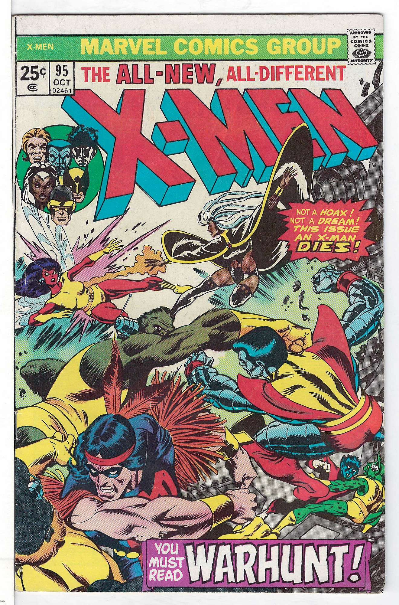 Cover of Uncanny X-Men (Vol 1) #95. One of 250,000 Vintage American Comics on sale from Krypton!