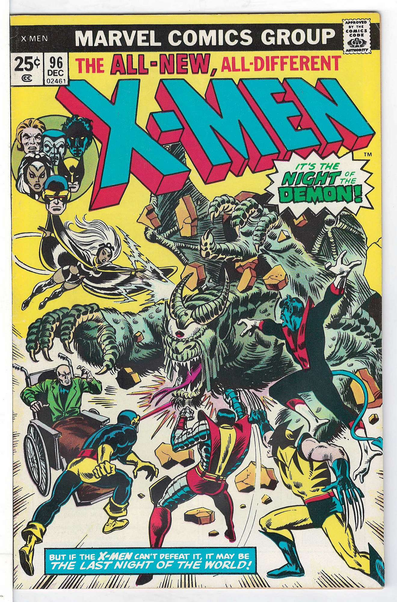 Cover of Uncanny X-Men (Vol 1) #96. One of 250,000 Vintage American Comics on sale from Krypton!