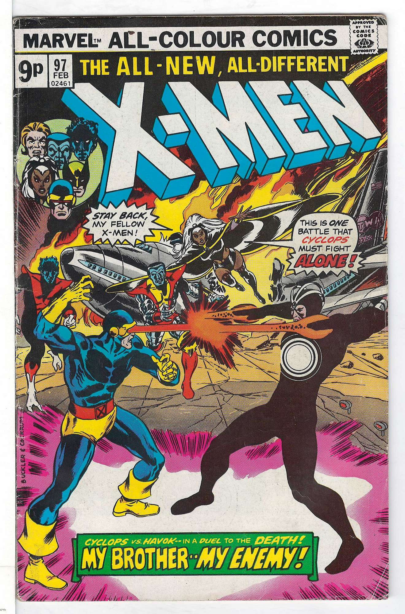Cover of Uncanny X-Men (Vol 1) #97. One of 250,000 Vintage American Comics on sale from Krypton!