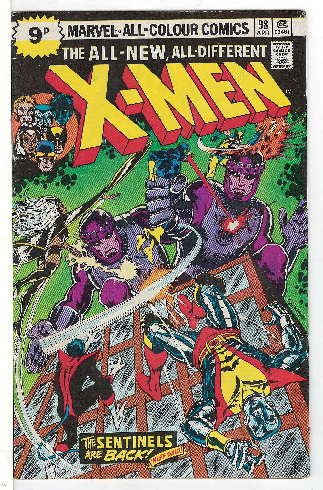 Cover of Uncanny X-Men (Vol 1) #98. One of 250,000 Vintage American Comics on sale from Krypton!