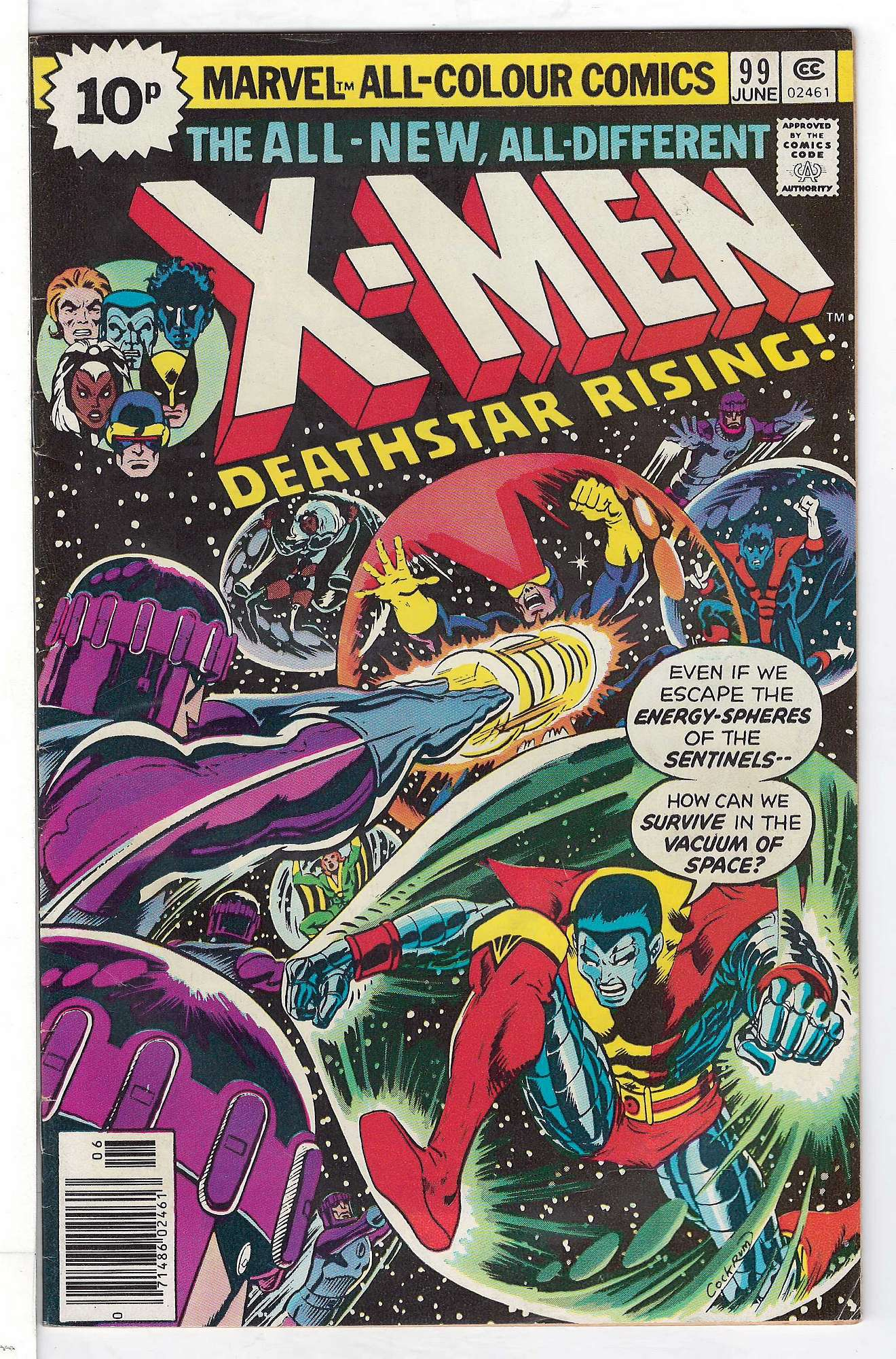Cover of Uncanny X-Men (Vol 1) #99. One of 250,000 Vintage American Comics on sale from Krypton!