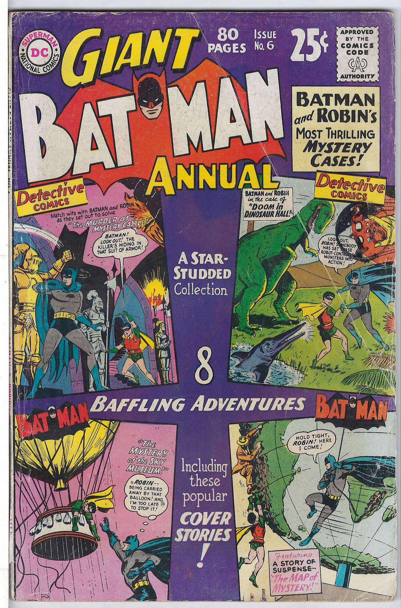 Cover of Batman Annual #6. One of 250,000 Vintage American Comics on sale from Krypton!
