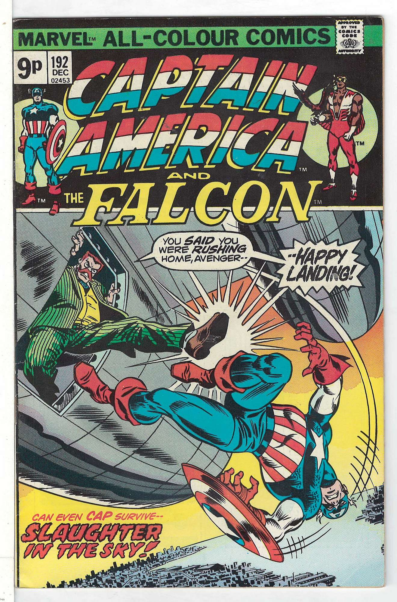 Cover of Captain America (Vol 1) #192. One of 250,000 Vintage American Comics on sale from Krypton!