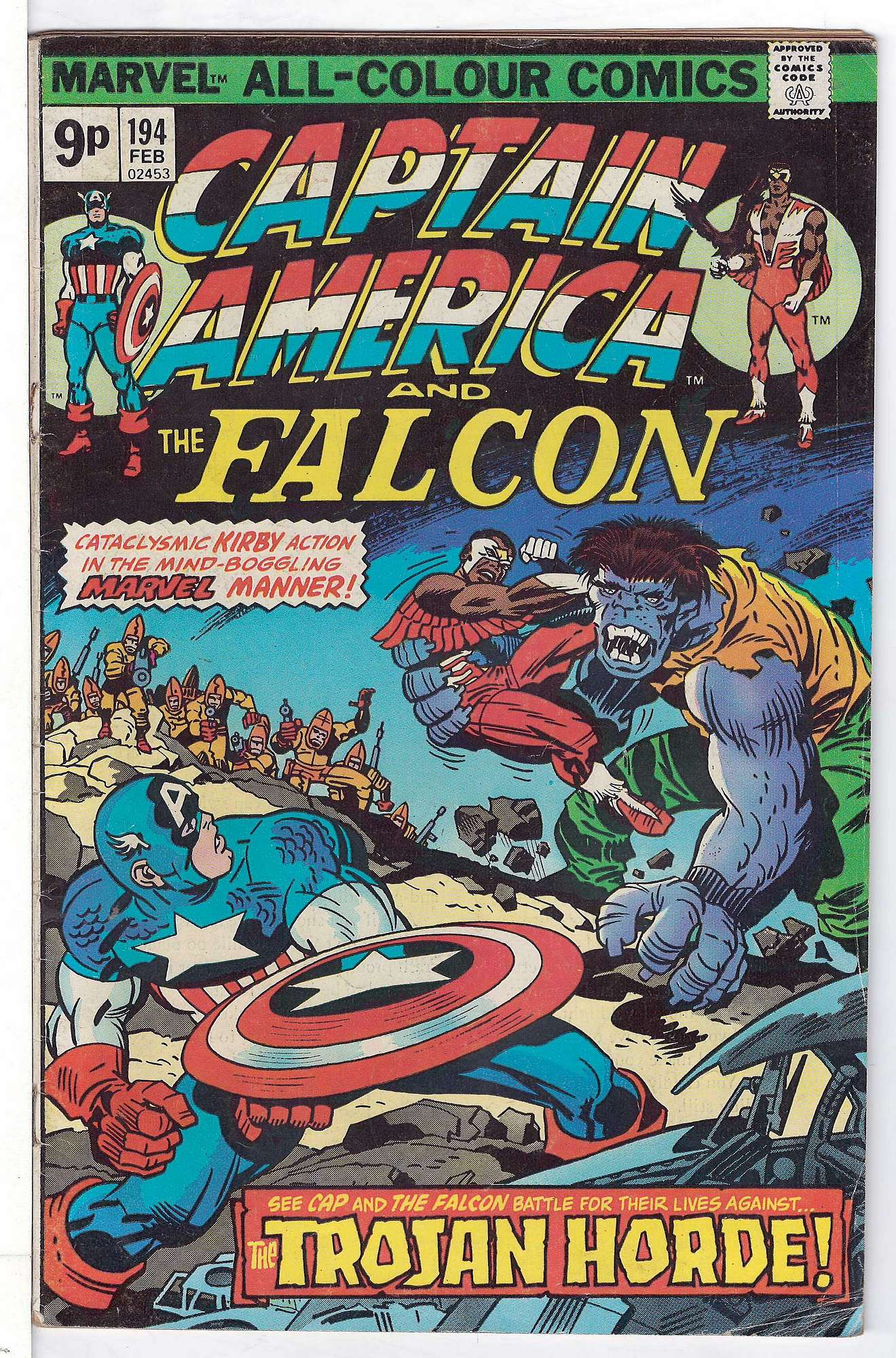 Cover of Captain America (Vol 1) #194. One of 250,000 Vintage American Comics on sale from Krypton!