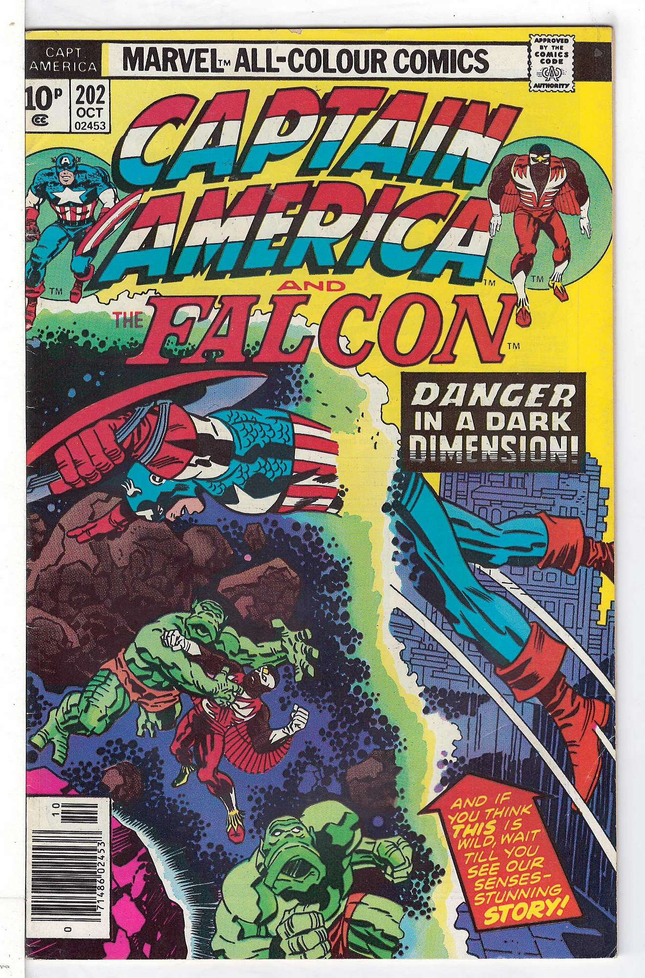 Cover of Captain America (Vol 1) #202. One of 250,000 Vintage American Comics on sale from Krypton!