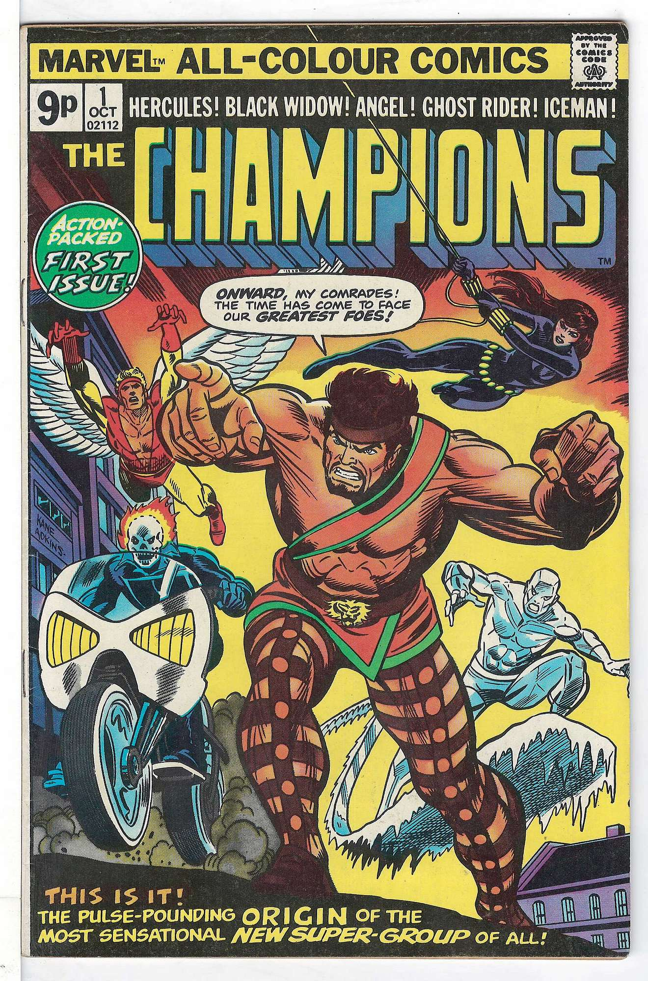Cover of Champions (Vol 1) The #1. One of 250,000 Vintage American Comics on sale from Krypton!