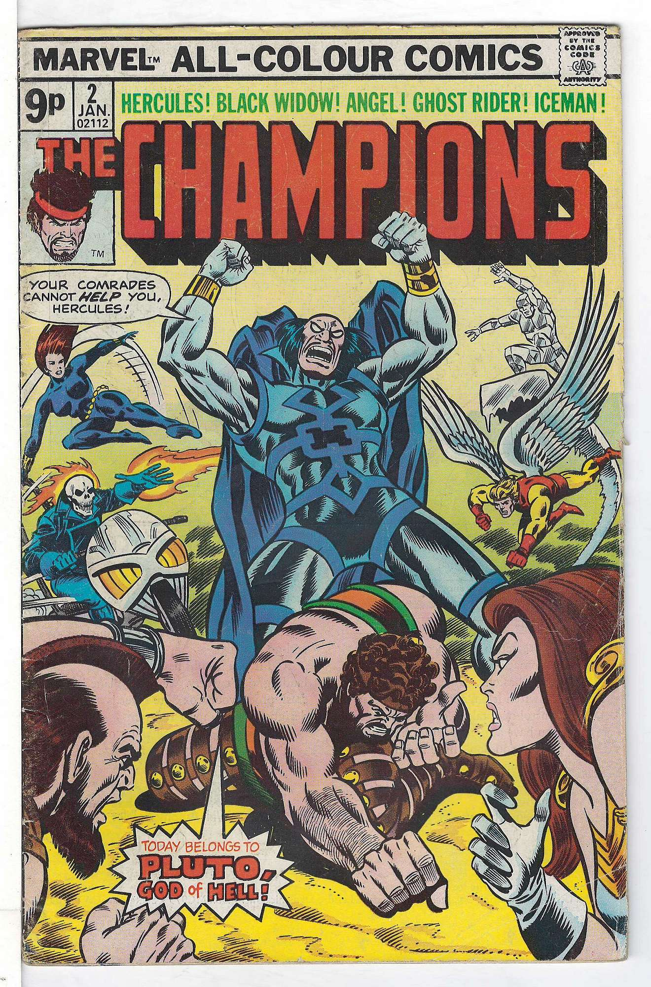 Cover of Champions (Vol 1) The #2. One of 250,000 Vintage American Comics on sale from Krypton!