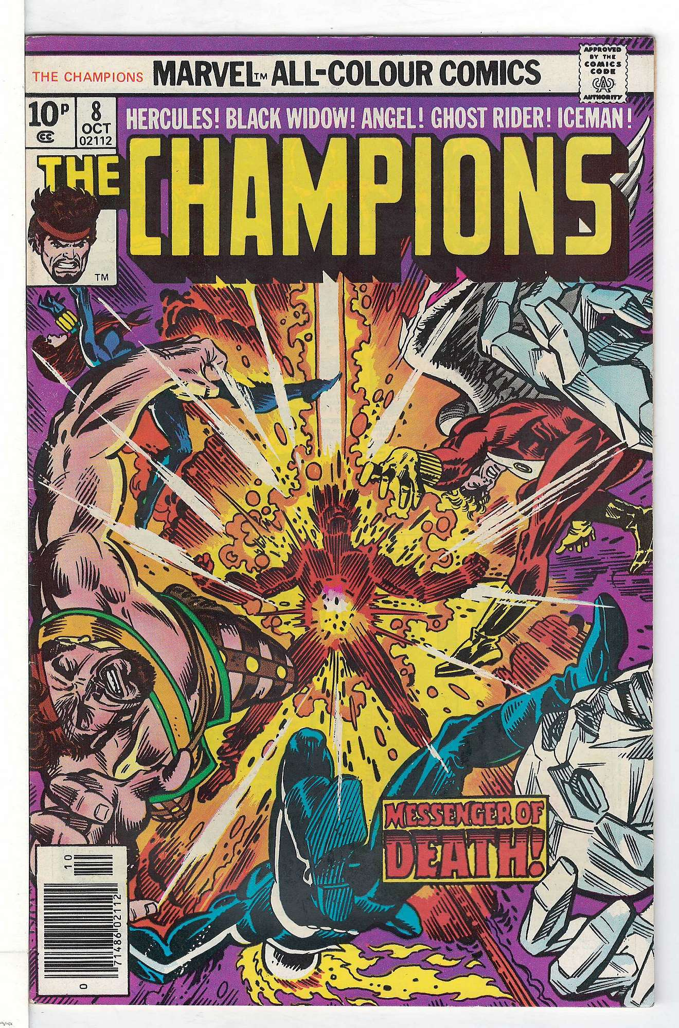 Cover of Champions (Vol 1) The #8. One of 250,000 Vintage American Comics on sale from Krypton!