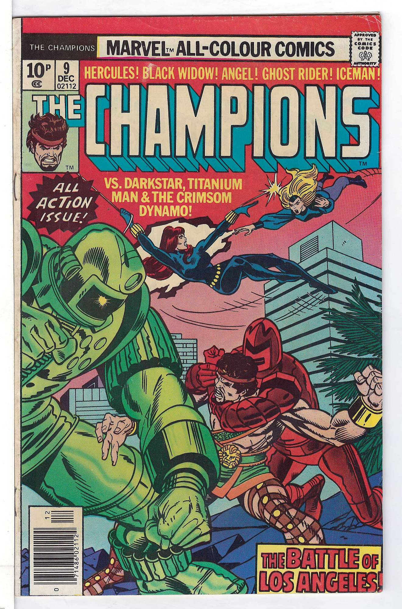 Cover of Champions (Vol 1) The #9. One of 250,000 Vintage American Comics on sale from Krypton!