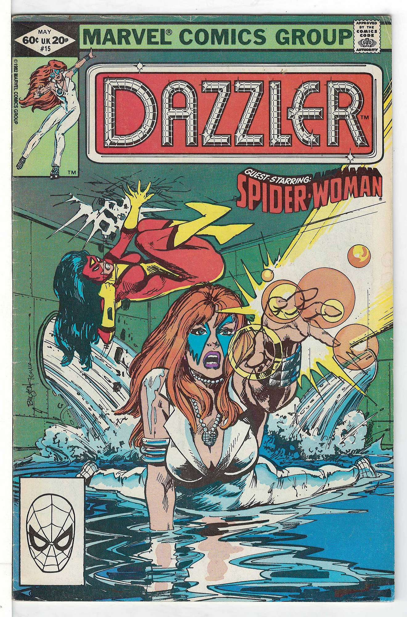 Cover of Dazzler (Vol 1) #15. One of 250,000 Vintage American Comics on sale from Krypton!
