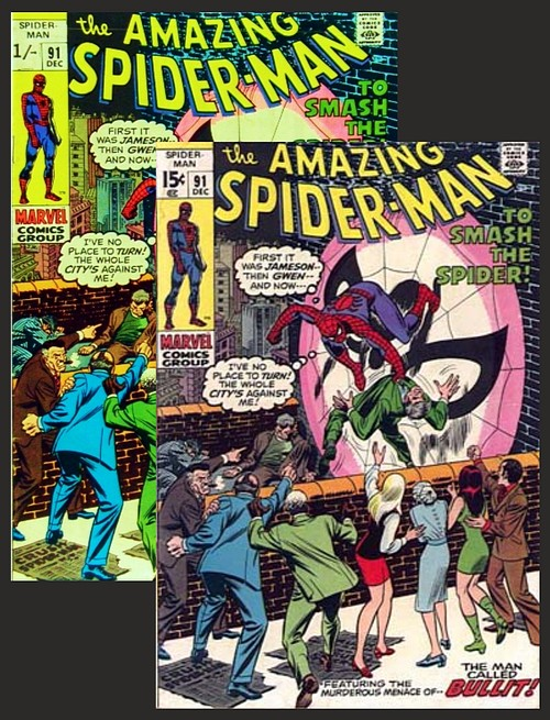 British Price Variant for Spidey
