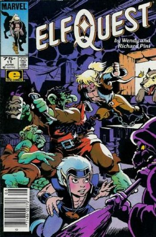 Cover of Elfquest (Epic) #11. One of 250,000 Vintage American Comics on sale from Krypton!