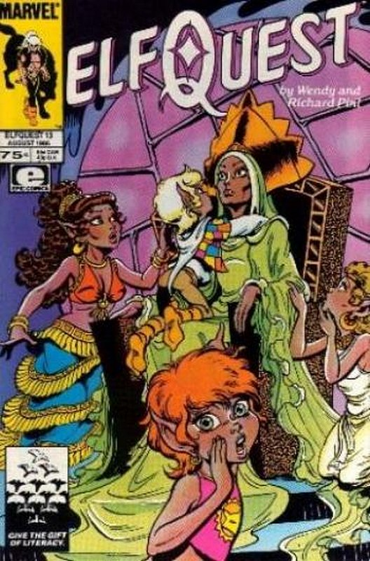 Cover of Elfquest (Epic) #13. One of 250,000 Vintage American Comics on sale from Krypton!