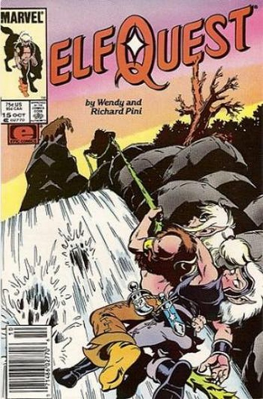 Cover of Elfquest (Epic) #15. One of 250,000 Vintage American Comics on sale from Krypton!