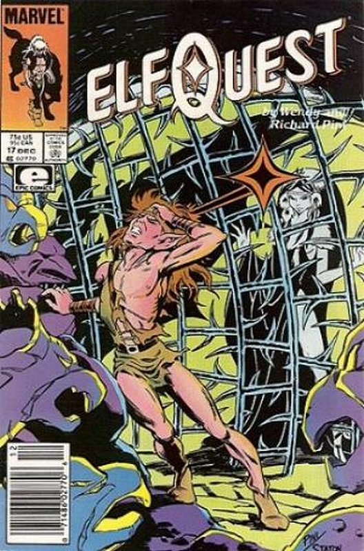 Cover of Elfquest (Epic) #17. One of 250,000 Vintage American Comics on sale from Krypton!
