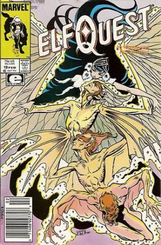 Cover of Elfquest (Epic) #19. One of 250,000 Vintage American Comics on sale from Krypton!