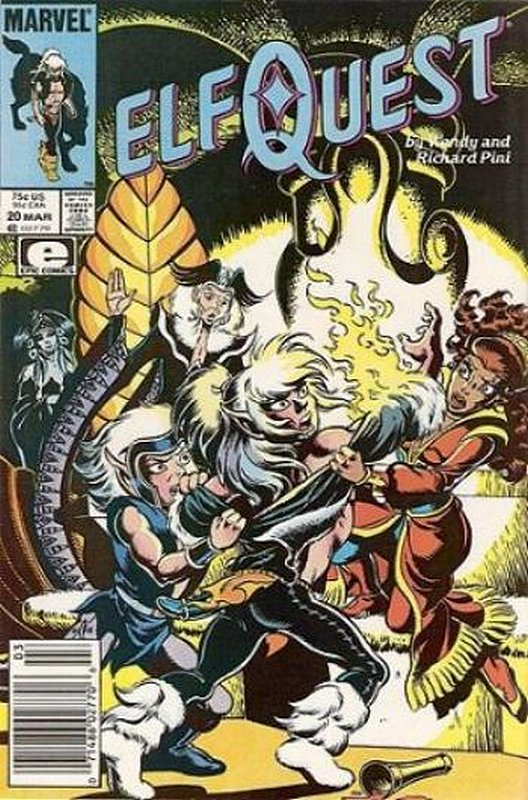 Cover of Elfquest (Epic) #20. One of 250,000 Vintage American Comics on sale from Krypton!