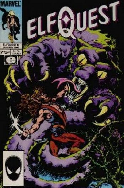 Cover of Elfquest (Epic) #6. One of 250,000 Vintage American Comics on sale from Krypton!