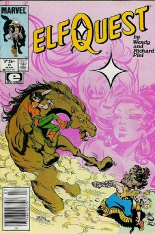 Cover of Elfquest (Epic) #8. One of 250,000 Vintage American Comics on sale from Krypton!