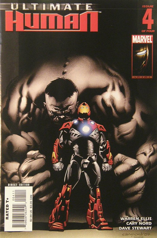 Cover of Ultimate Human (2008 Ltd) #4. One of 250,000 Vintage American Comics on sale from Krypton!