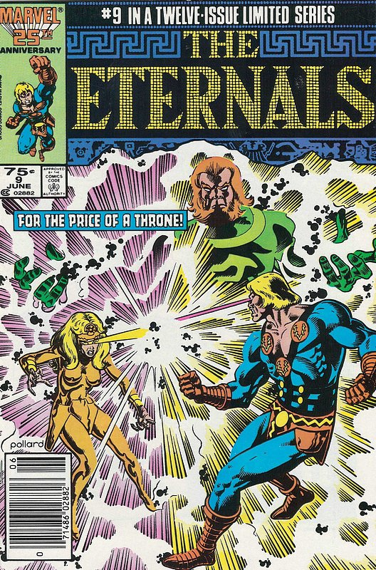 Cover of Eternals (1985-86 Ltd) #9. One of 250,000 Vintage American Comics on sale from Krypton!