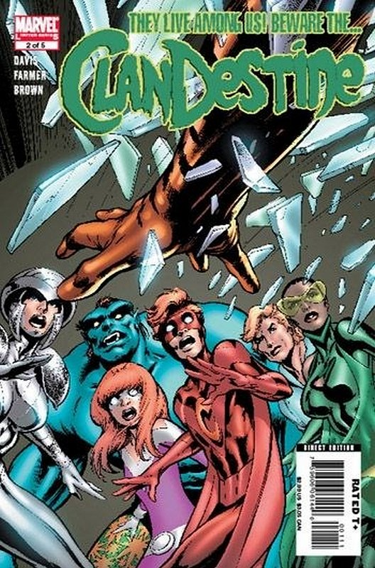 Cover of Clandestine (2008 Ltd) #2. One of 250,000 Vintage American Comics on sale from Krypton!