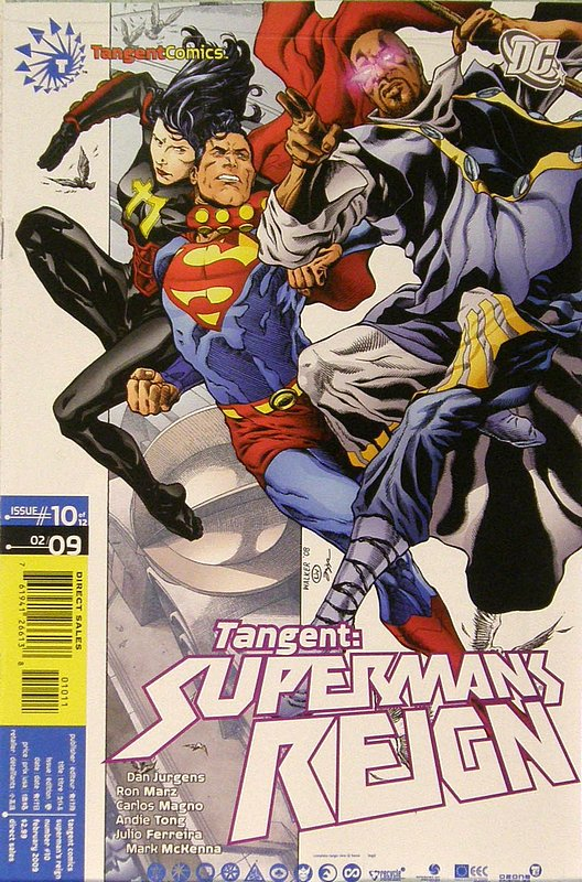 Cover of Tangent: Supermans Reign (2008 Ltd) #10. One of 250,000 Vintage American Comics on sale from Krypton!
