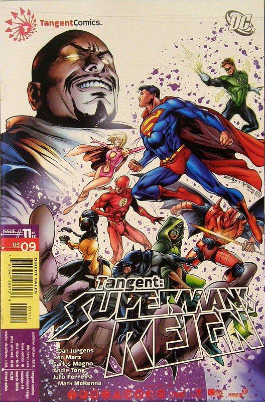 Cover of Tangent: Supermans Reign (2008 Ltd) #11. One of 250,000 Vintage American Comics on sale from Krypton!