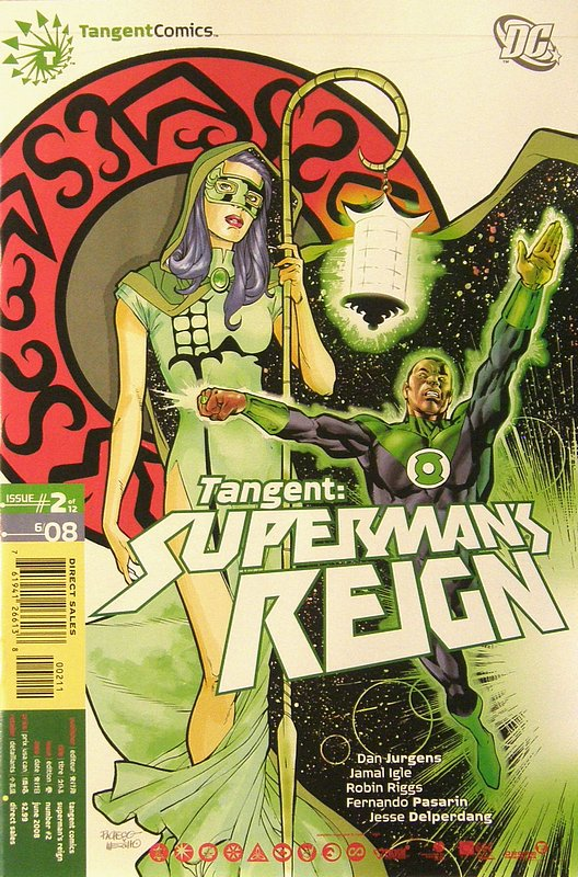 Cover of Tangent: Supermans Reign (2008 Ltd) #2. One of 250,000 Vintage American Comics on sale from Krypton!