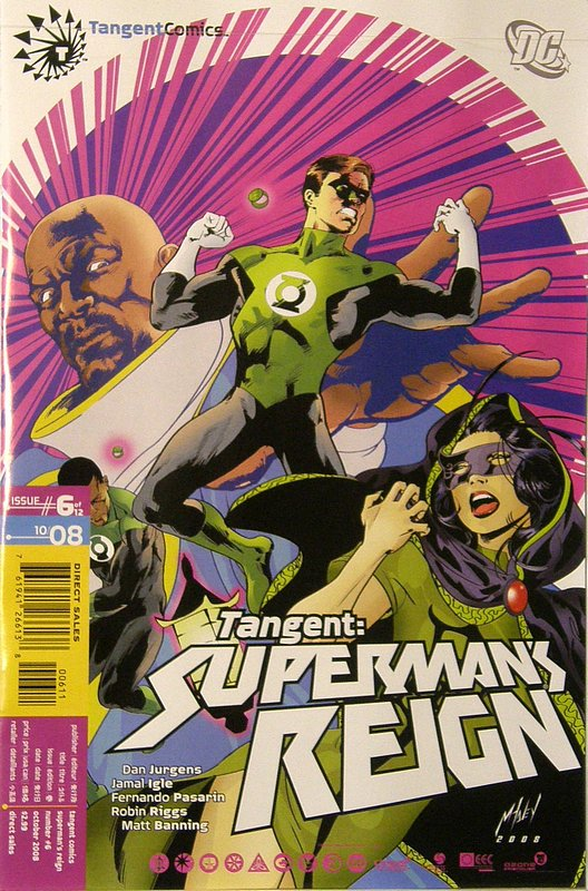 Cover of Tangent: Supermans Reign (2008 Ltd) #6. One of 250,000 Vintage American Comics on sale from Krypton!