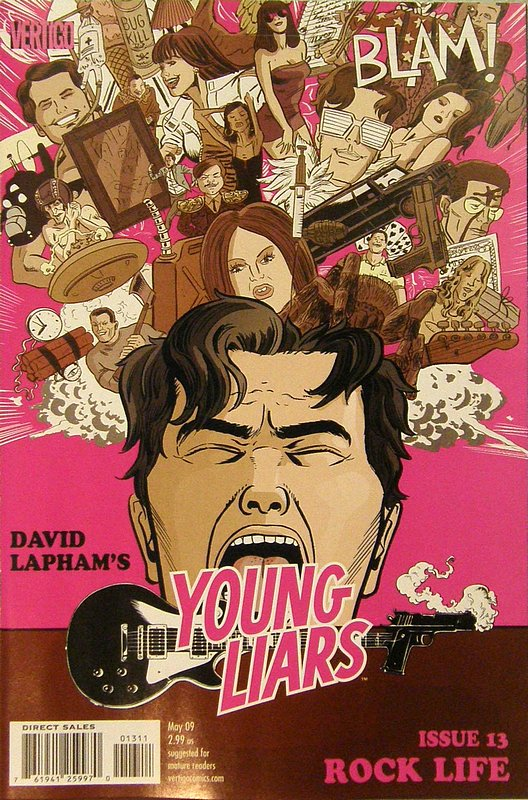 Cover of Young Liars (Vol 1) #13. One of 250,000 Vintage American Comics on sale from Krypton!