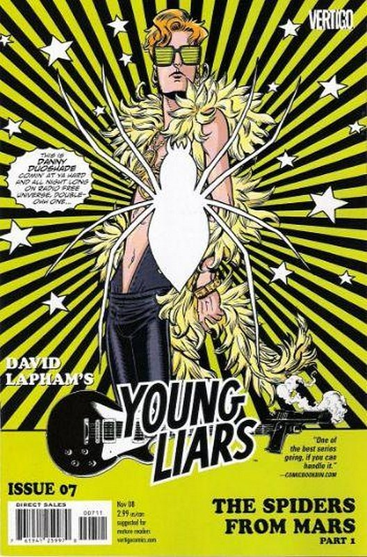 Cover of Young Liars (Vol 1) #7. One of 250,000 Vintage American Comics on sale from Krypton!