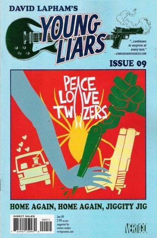 Cover of Young Liars (Vol 1) #9. One of 250,000 Vintage American Comics on sale from Krypton!