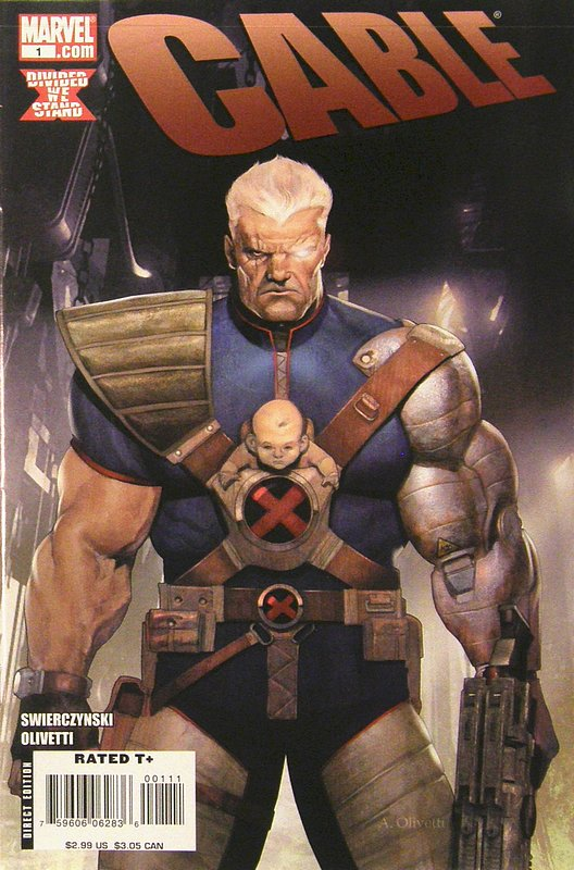 Cover of Cable (Vol 2) #1. One of 250,000 Vintage American Comics on sale from Krypton!
