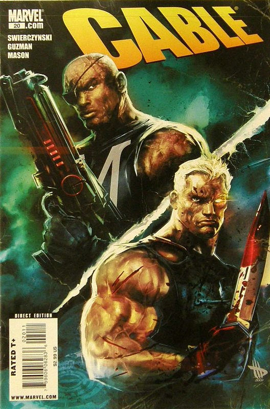 Cover of Cable (Vol 2) #20. One of 250,000 Vintage American Comics on sale from Krypton!