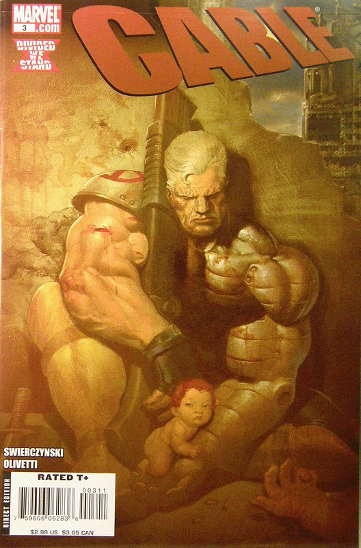 Cover of Cable (Vol 2) #3. One of 250,000 Vintage American Comics on sale from Krypton!