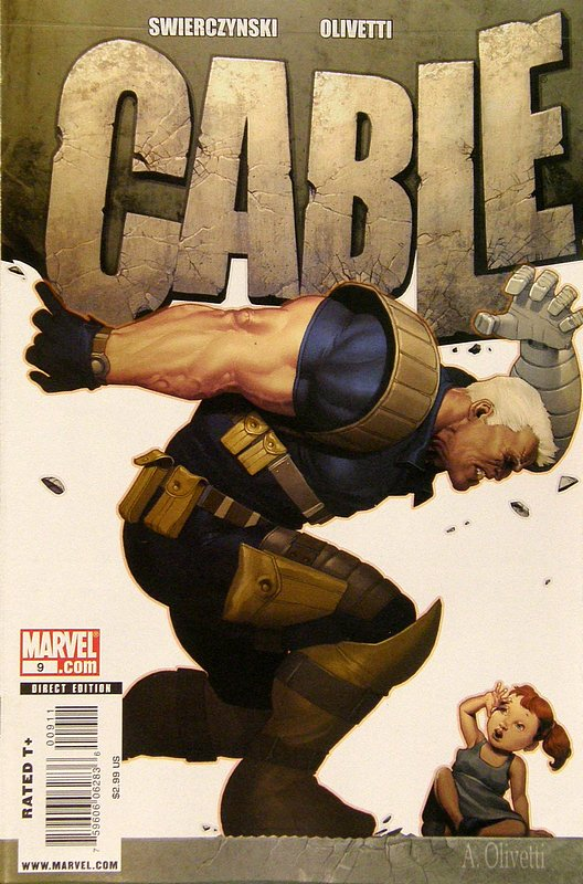 Cover of Cable (Vol 2) #9. One of 250,000 Vintage American Comics on sale from Krypton!