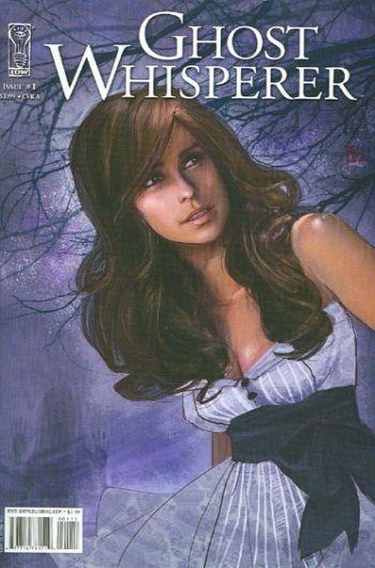 Cover of Ghost Whisperer: The Haunted #1. One of 250,000 Vintage American Comics on sale from Krypton!