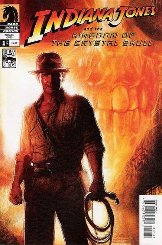 Cover of Indiana Jones & the Crystal Skull (2008 Ltd) #1. One of 250,000 Vintage American Comics on sale from Krypton!