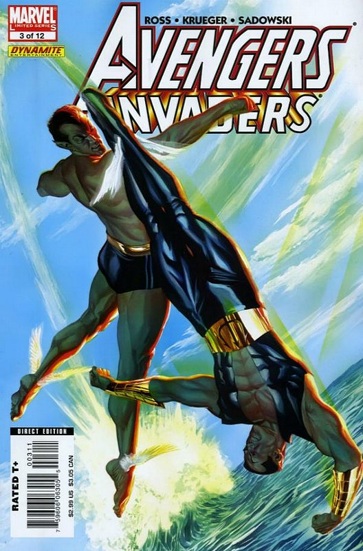 Cover of Avengers/Invaders (2008 Ltd) #3. One of 250,000 Vintage American Comics on sale from Krypton!