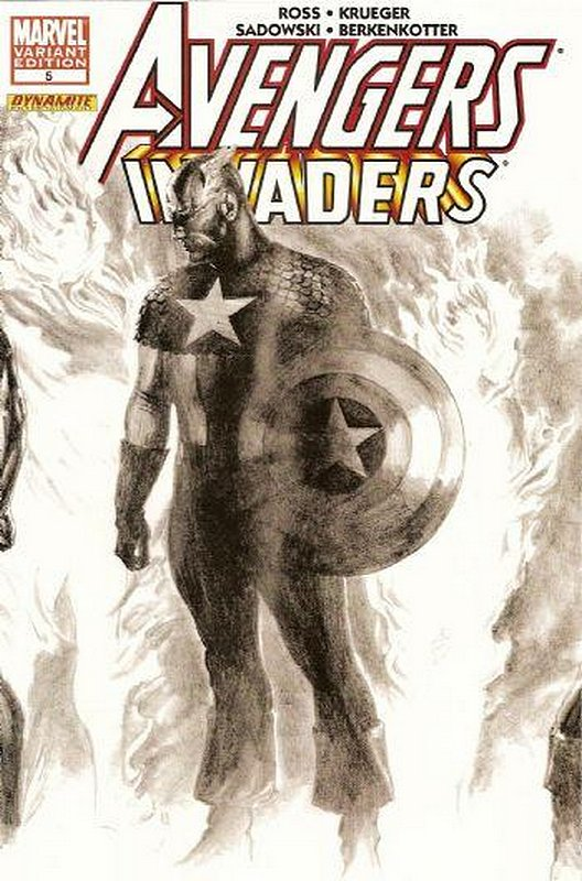 Cover of Avengers/Invaders (2008 Ltd) #5. One of 250,000 Vintage American Comics on sale from Krypton!