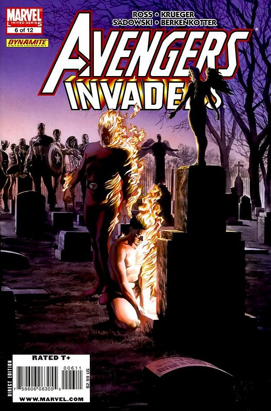 Cover of Avengers/Invaders (2008 Ltd) #6. One of 250,000 Vintage American Comics on sale from Krypton!