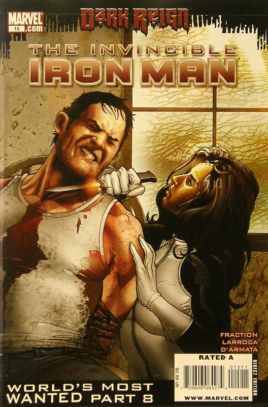 Cover of Invincible Iron Man (Vol 1) #15. One of 250,000 Vintage American Comics on sale from Krypton!