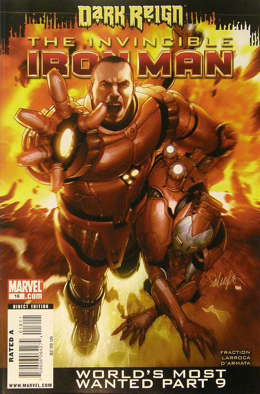 Cover of Invincible Iron Man (Vol 1) #16. One of 250,000 Vintage American Comics on sale from Krypton!