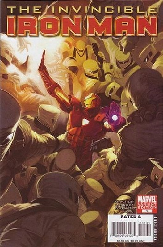 Cover of Invincible Iron Man (Vol 1) #1. One of 250,000 Vintage American Comics on sale from Krypton!