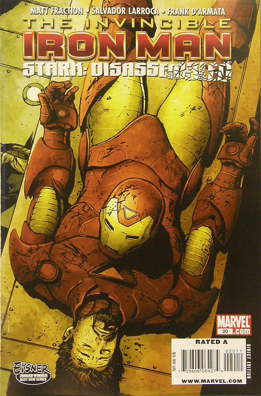 Cover of Invincible Iron Man (Vol 1) #20. One of 250,000 Vintage American Comics on sale from Krypton!