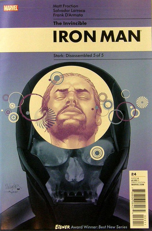Cover of Invincible Iron Man (Vol 1) #24. One of 250,000 Vintage American Comics on sale from Krypton!